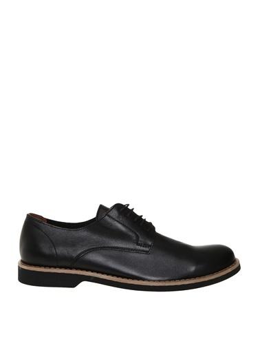 Fabrika Bağcıklı Klasik Ayakkabı Siyah